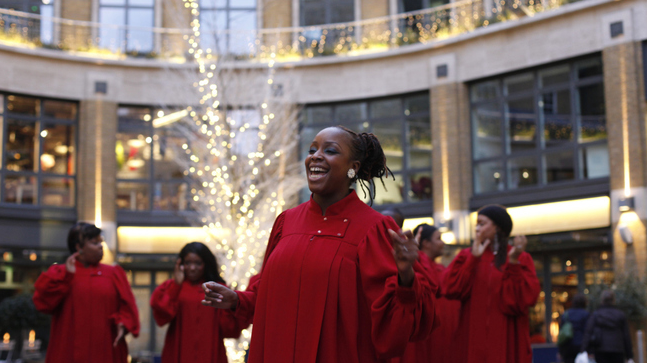 Christmas Shows - Gospel Choir