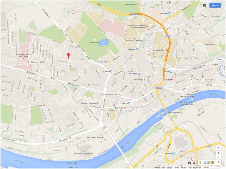 Hamilton Place bomb scare Newcastle
