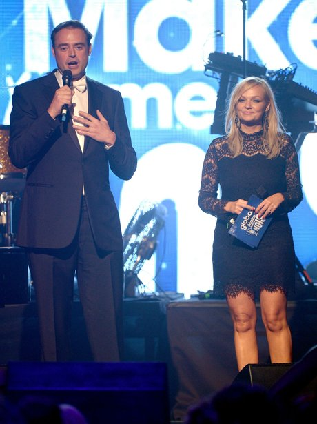 Jamie Theakson and Emma Bunton at Global Make Some