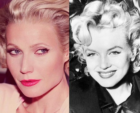 Maxfactor, Gwyneth Paltrow, Marylin Monroe
