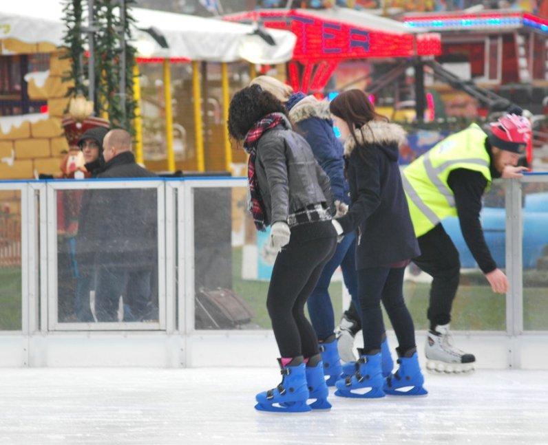 North Pole Skate Heart
