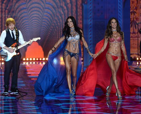 Victoria's Secret Adriana Lima and Alessandra Ambrosio