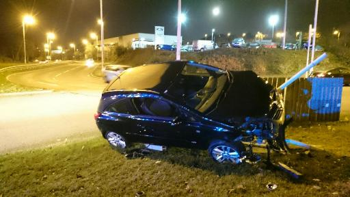 Dorset Way Poole drink-drive crash
