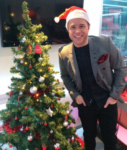 Olly Murs Christmas Hat