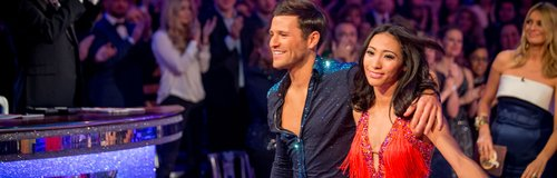 Mark Wright and Karen strictly come dancing