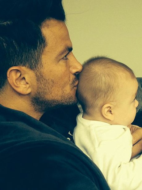Peter Andre and Amelia