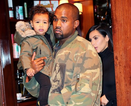 Kanye West and North West