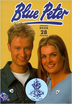 Stuart and Katy Blue Peter Annual