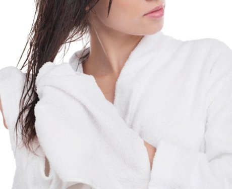 how to make dry hair look healthy