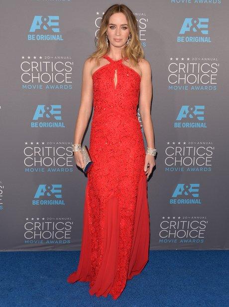 Emily Blunt at Critics' Choice Movie Awards