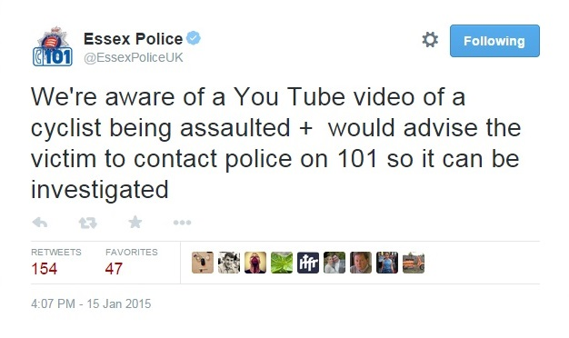 Essex Police want the victim to come forward.