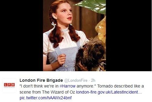 Tweet from @LondonFire