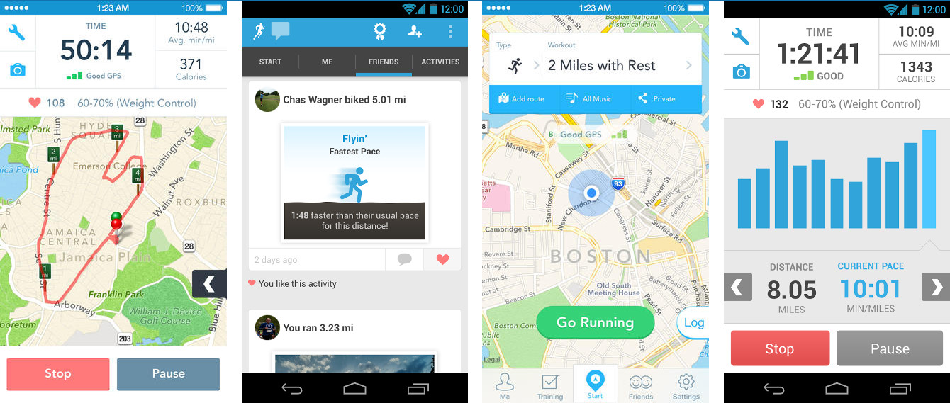 Runkeeper Screenshots