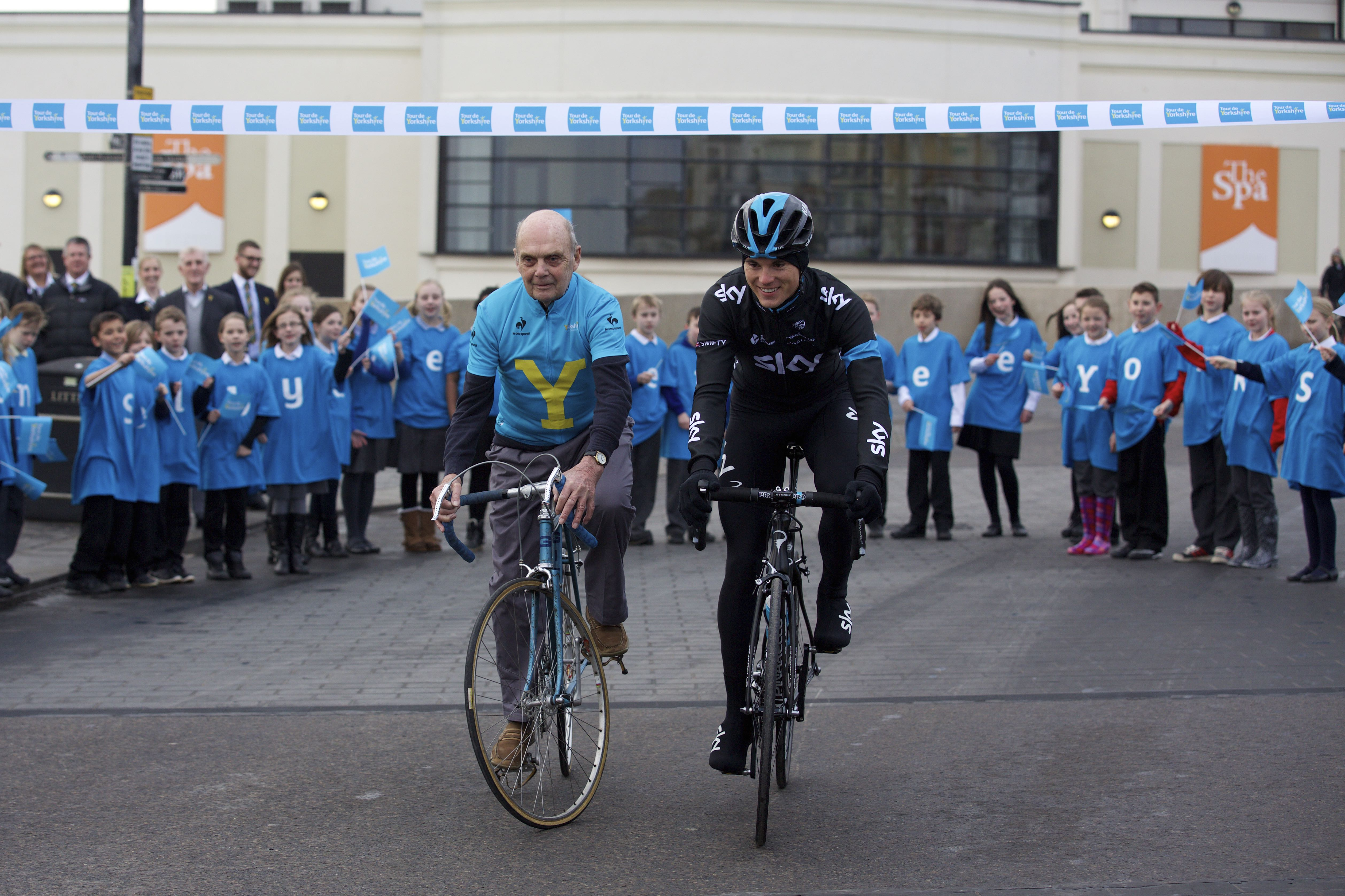 Yorkshire Launch Brian Robinson and Ben Swift
