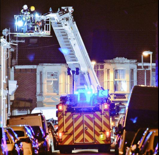 Bosham Road Copnor Portsmouth fire