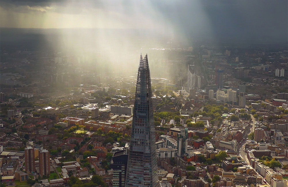 London Helicopter - The Shard