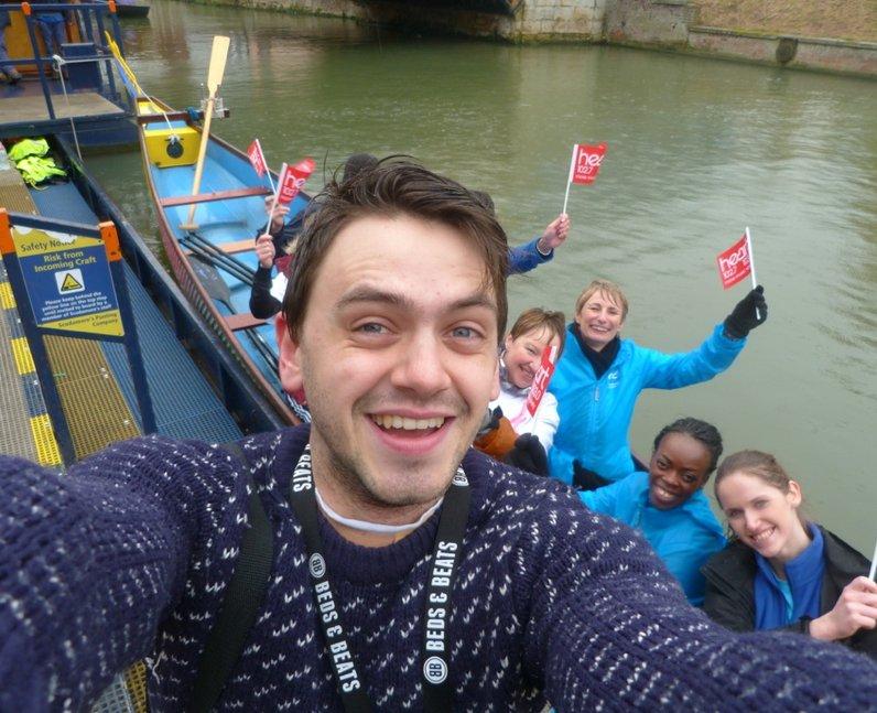 Cambridge Dragon Boat Festival Launch
