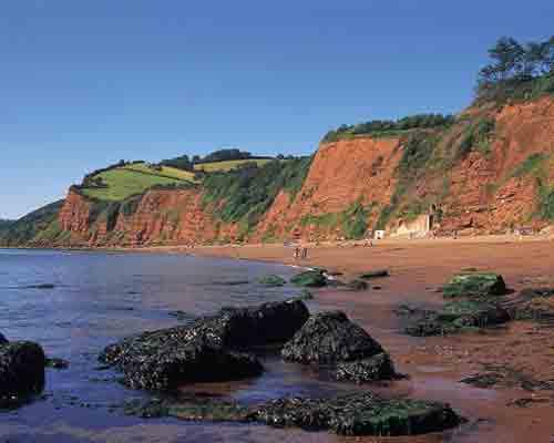 Ness Cove Beach, Devon