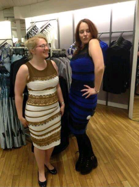 Black and Blue or White and Gold