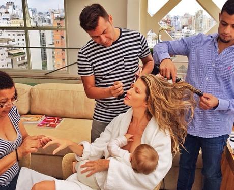 Gisele Bunchden Breastfeeding