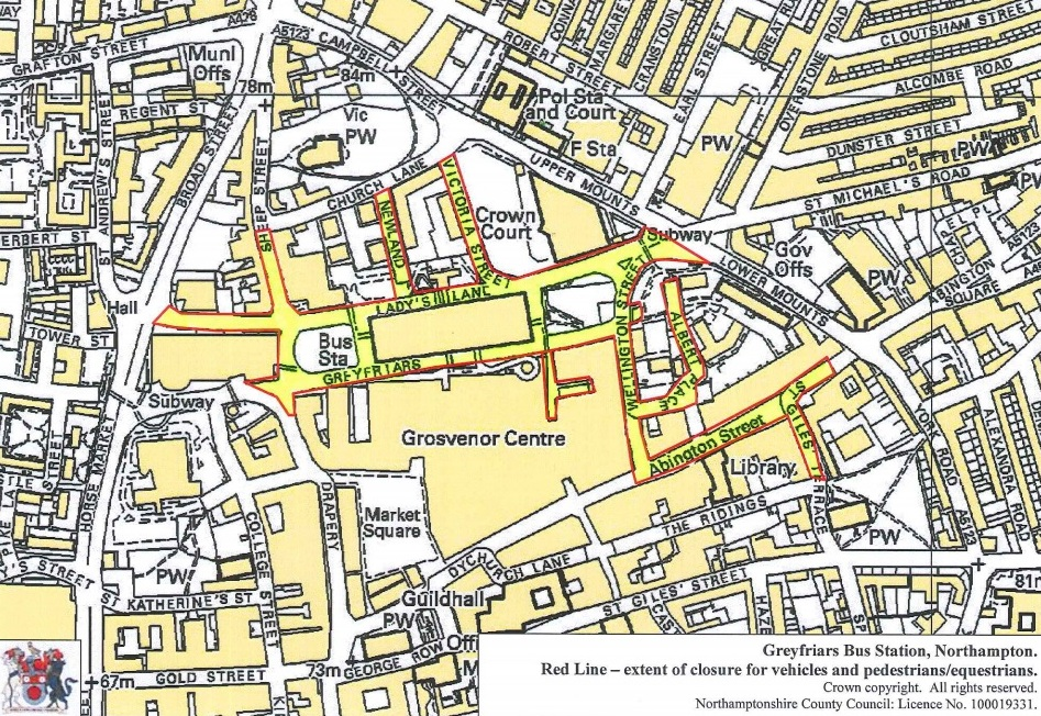 Greyfriars Exclusion Zone
