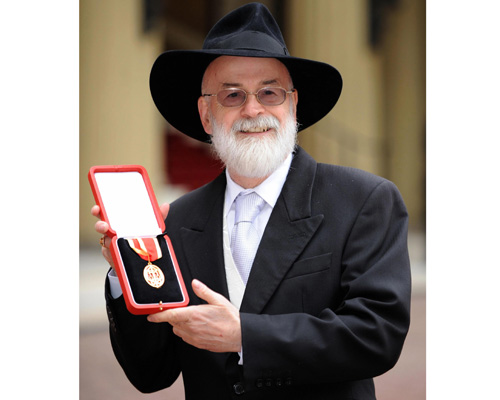 Terry Pratchett article