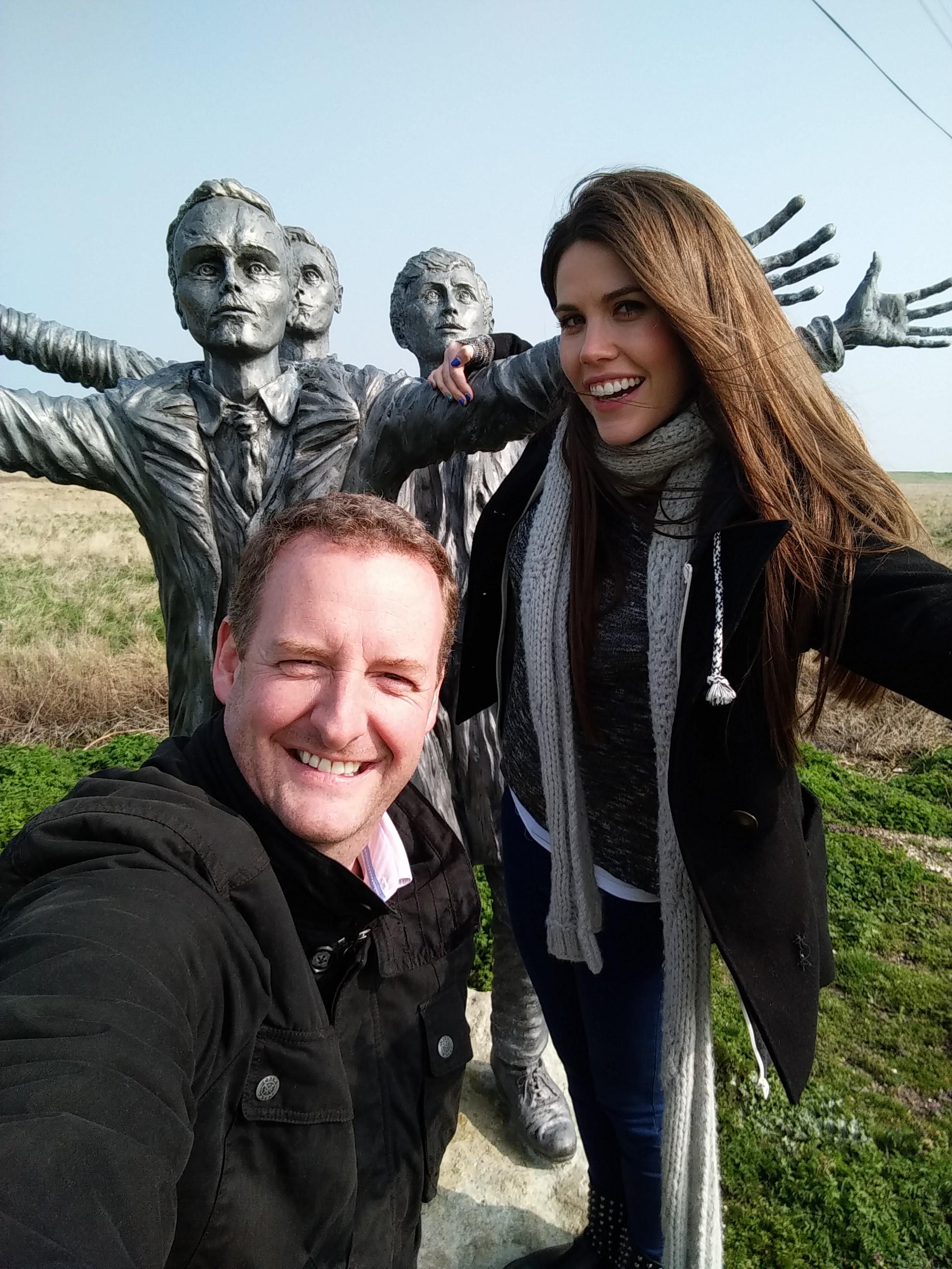 James &  Becky A - Z Selfie S