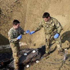 The team fix the detonators