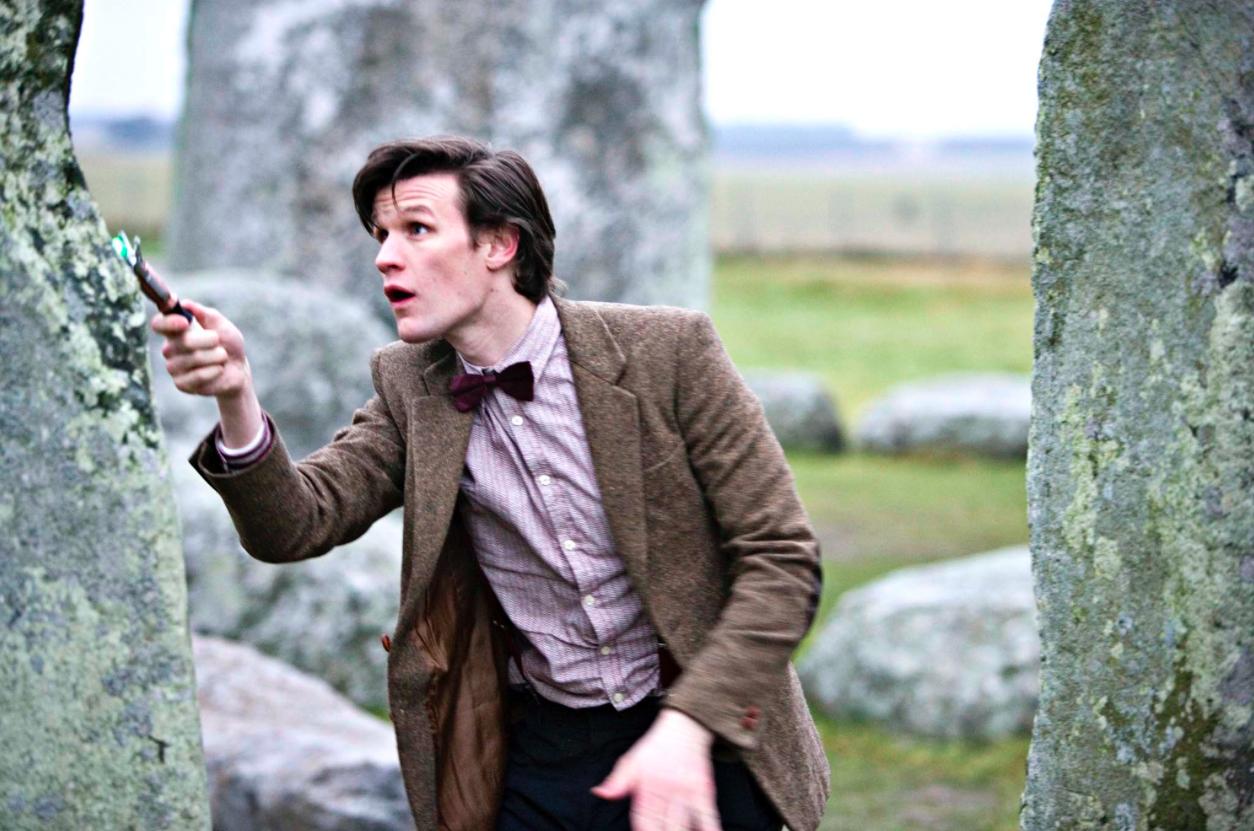 Dr Who At Stonehenge