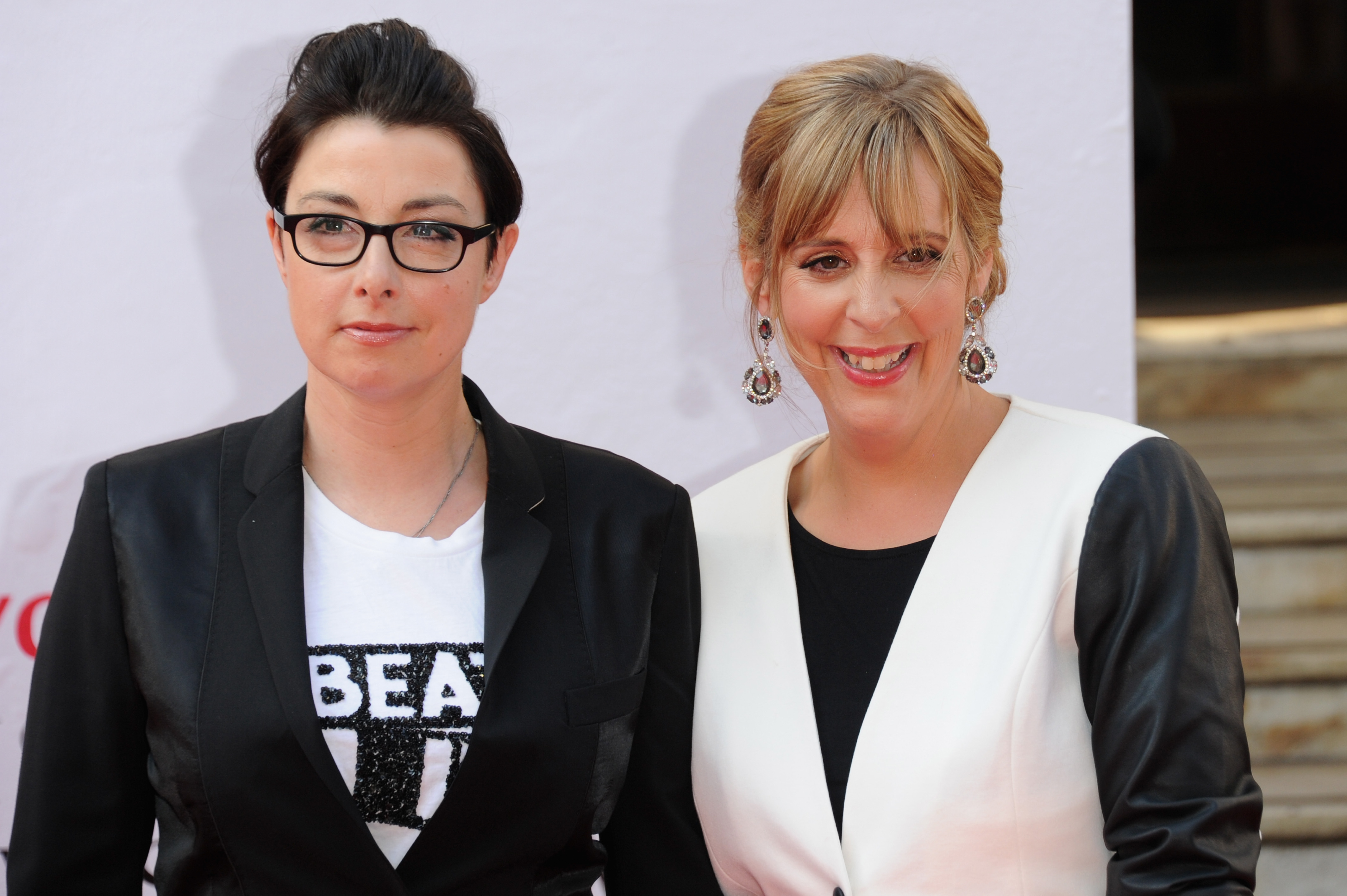 Sue Perkins and Mel Giedroyc