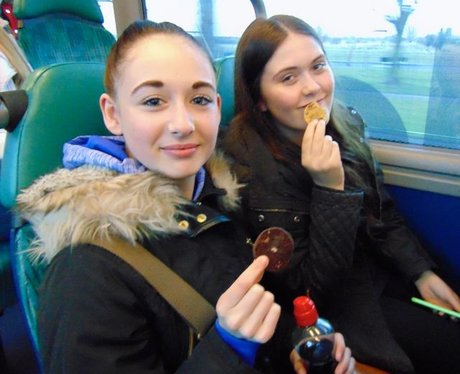 We hope these girls journey was made a bit better