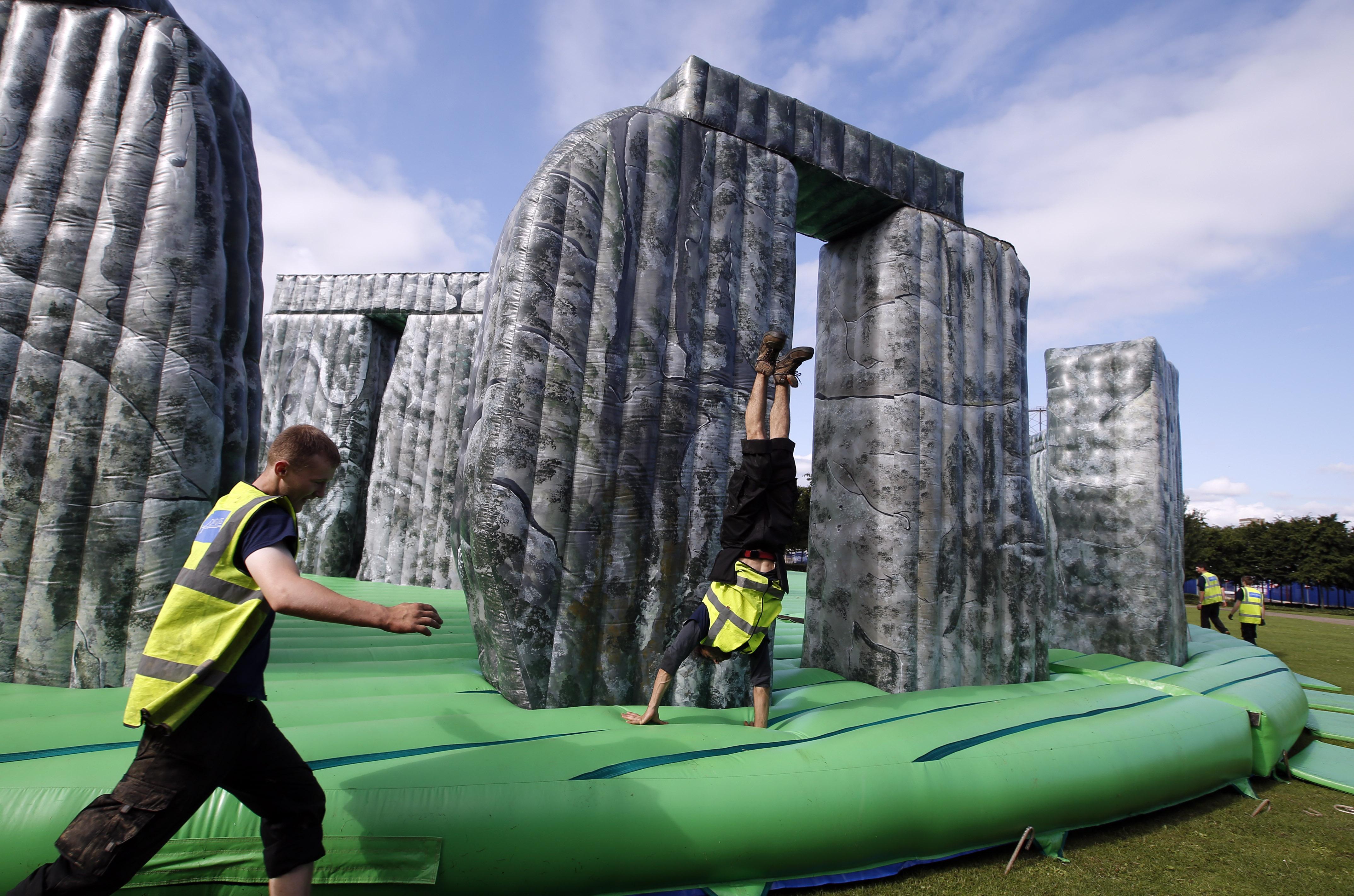 London 2012 Olympics (Stonehenge)