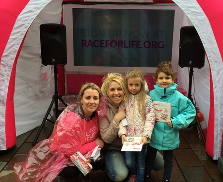 Race for life launch event