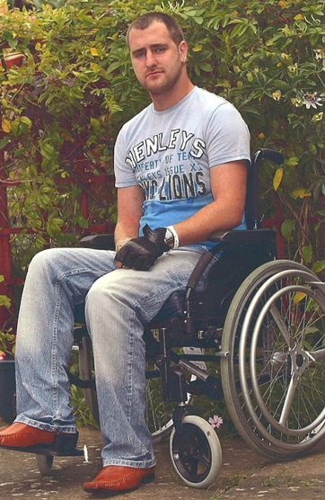 Joe Triccas Isle of Wight paralysed compensation