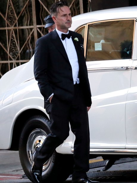 David Arquette wedding to Christina Mclarty
