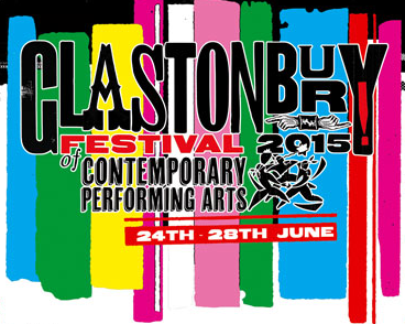 Glastonbury 2015 logo screenshot