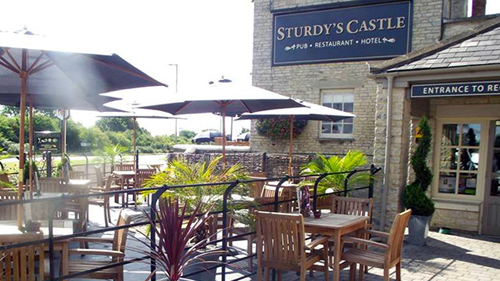 Sturdy's Castle in Tackley