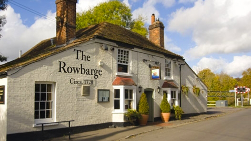 The Rowbarge in Woolhampton