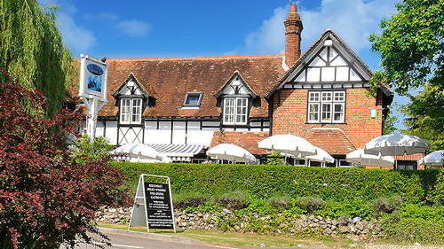 Winterbourne Arms near Newbury
