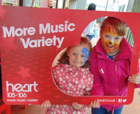 Merthyr Gets its Face Painted!