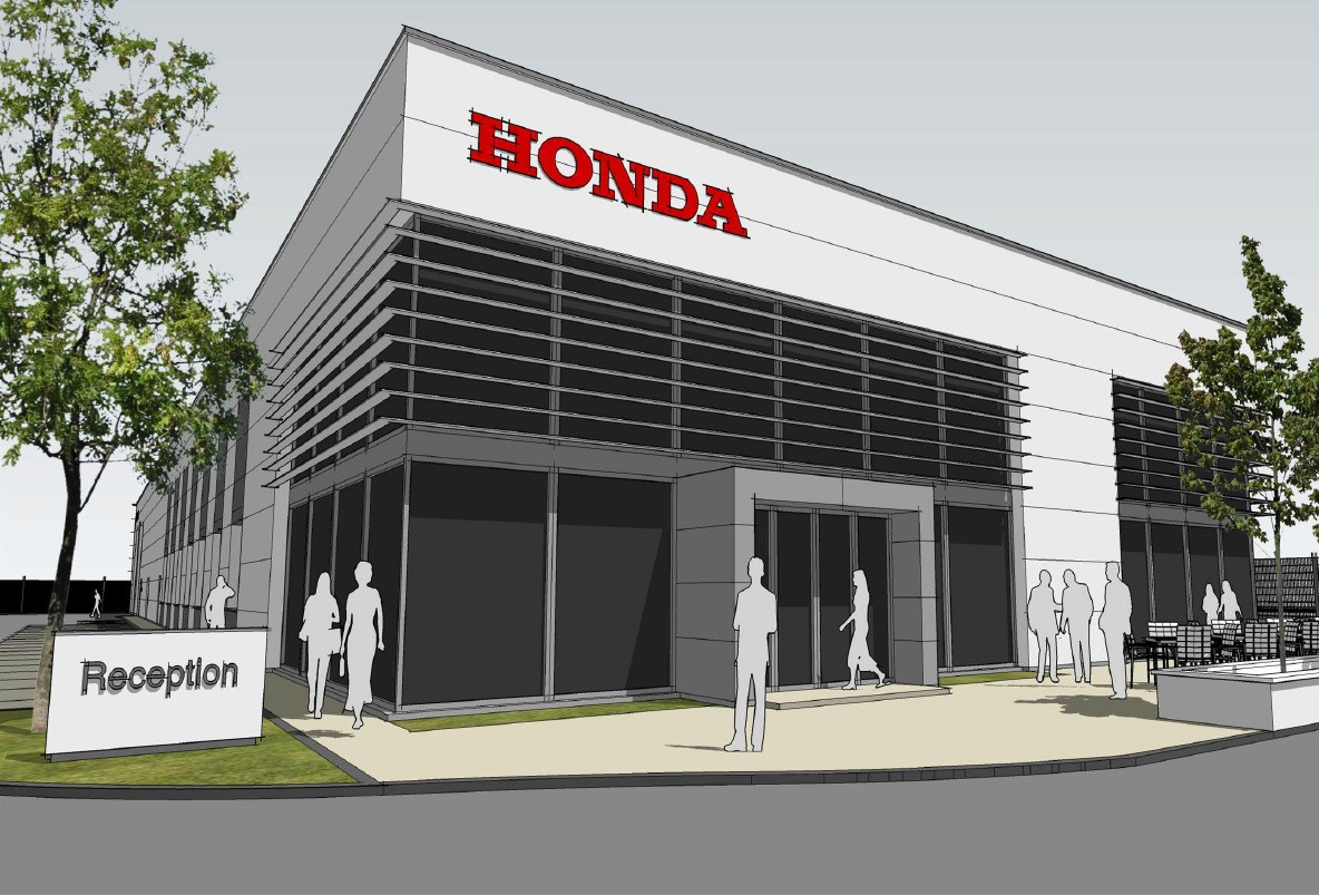 New Honda Garage
