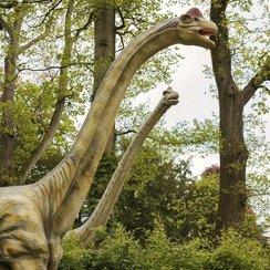 Dinosaurs at Longleat