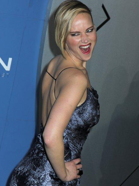 Jennifer Lawrence funny face