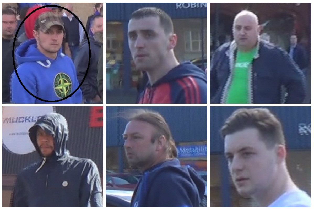CCTV Birmingham Football Violence
