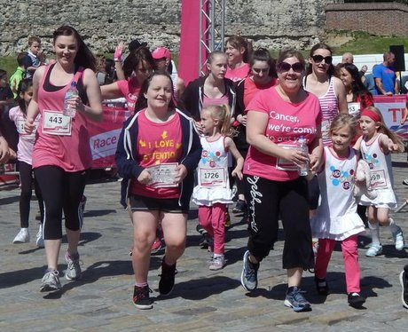 Heart Angels: Rochester Race For Life - The Race (