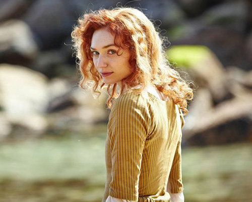 Eleanor Tomlinson as Demelza in 'Poldark'