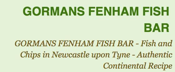 Gormans Fensham Fish Bar