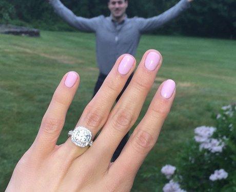 Nastia Liukin's engagement ring