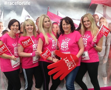 Basingstoke Race For Life: Before The Race