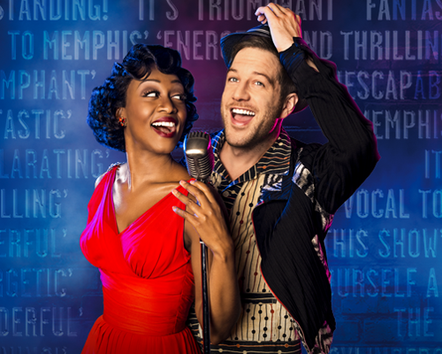 Beverley Knight and Matt Cardle in Memphis